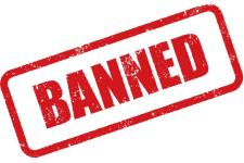 banned